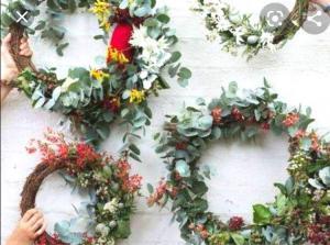 Květinová dílna-Letní věnec 1
